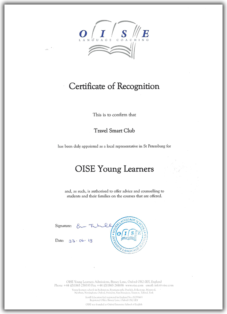OISE Young Learners