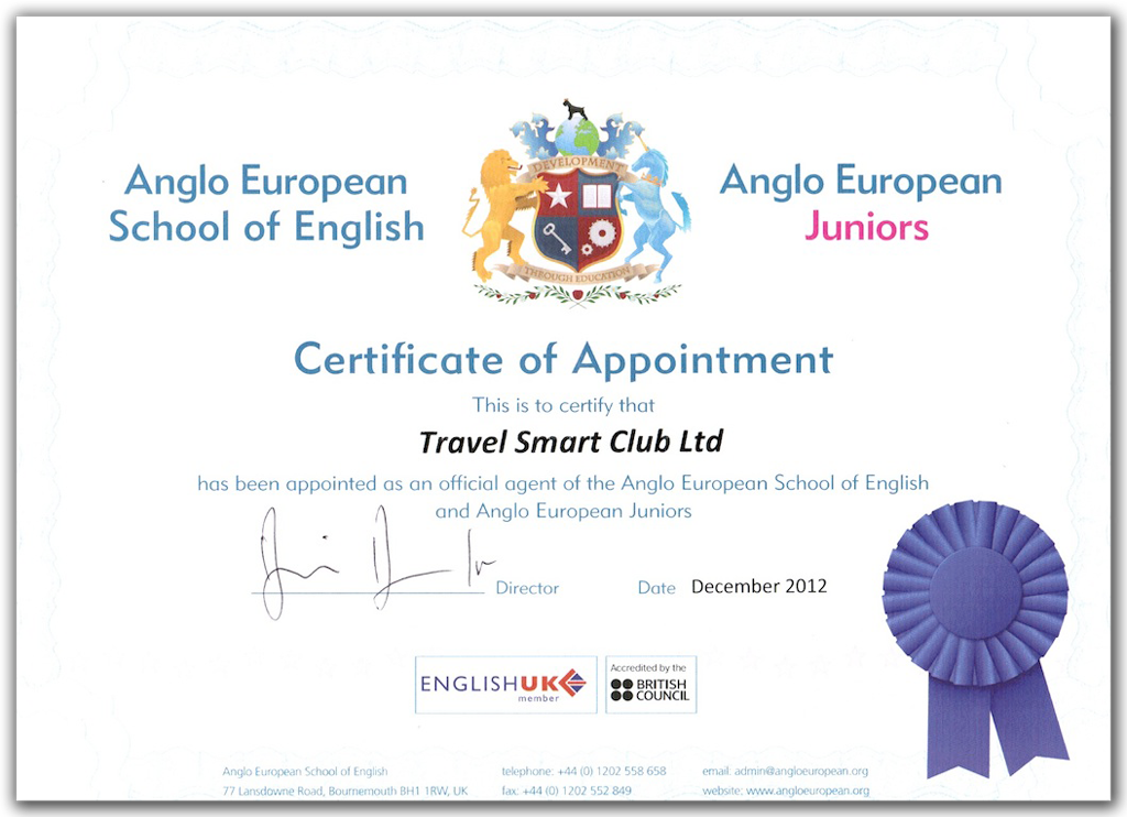 Anglo European School of English