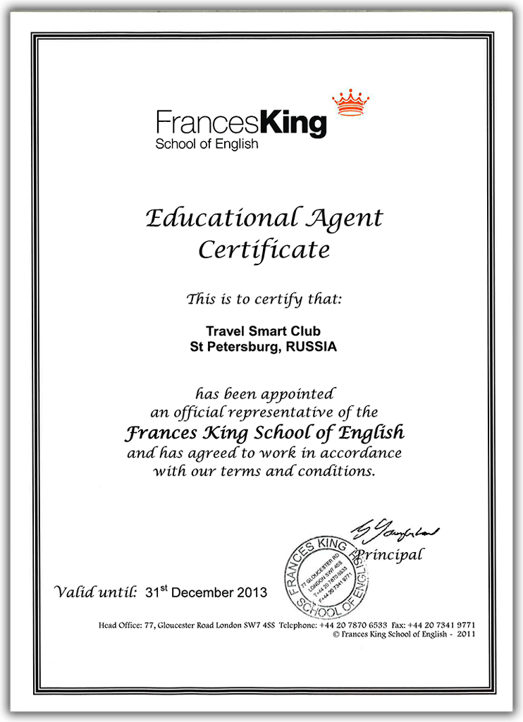 FrancesKing School of English